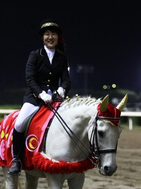 写真: 川崎競馬の誘導馬05月開催 こいのぼり青Ver-120516-06-large