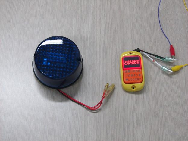 バスジャック警告灯と降車ボタン