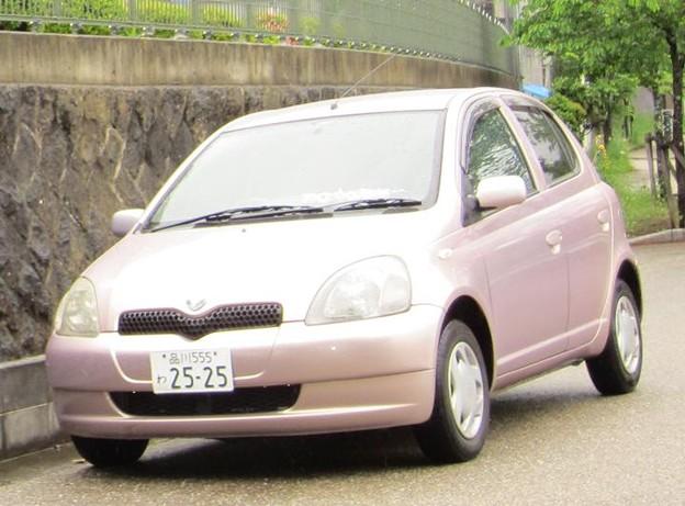 ピンクなvitz (*´ω`*)