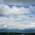 写真: 梅雨の合間。