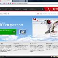 写真: Opera10.53:スクロールバーなし