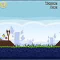 写真: Chromeアプリ:Angry Birds(プレイ画面、拡大)2