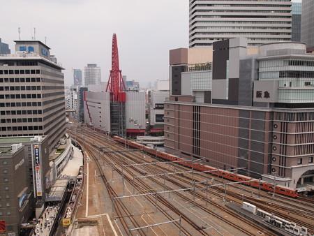 201系普通 大阪環状線大阪駅(ルクア)01