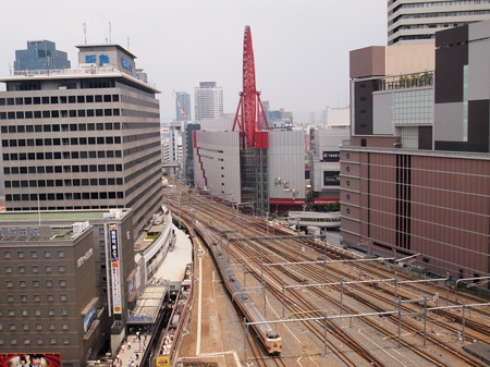 381系特急こうのとり 東海道本線大阪駅(ルクア)