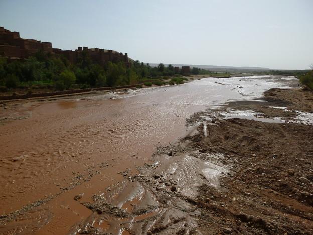 アイトベンハッドゥの川