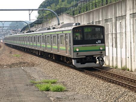 205系横浜線H17編成(八王子みなみ野駅)