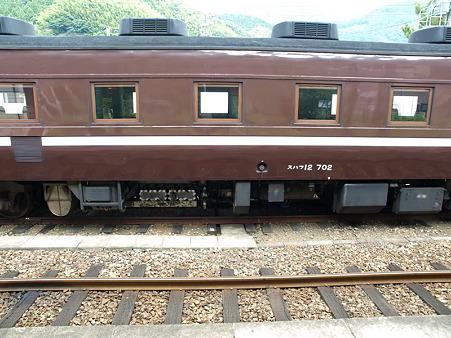 スハフ12-702(津和野駅)