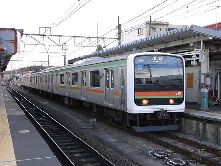 209系川越線(高麗川駅)