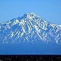 写真: サロベツ原野から利尻富士を望む43