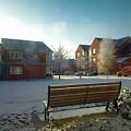晴れた冬の空
