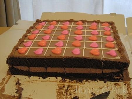ハーフシートチョコレートケーキ断面IMG_8683