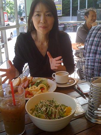 青山のカフェ