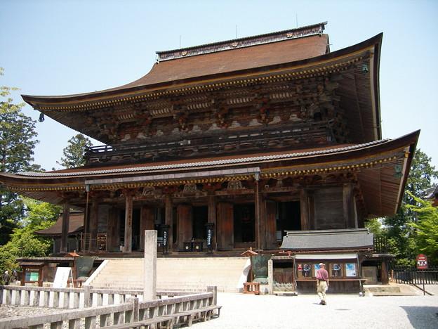 写真: 0505金峯山寺蔵王堂