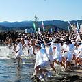 写真: 平成23年青島神社新春の禊裸まいり5