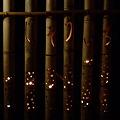 徳満寺 地蔵まつり 竹灯篭3