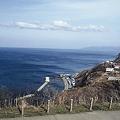 写真: 強風の津軽海峡