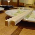 Photos: 箸の端