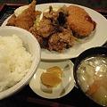 Photos: 神田の居酒屋のフライ定食