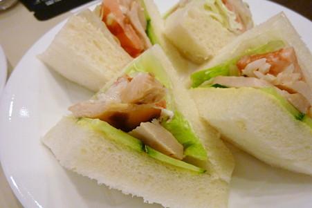ルノアールのサンドイッチ