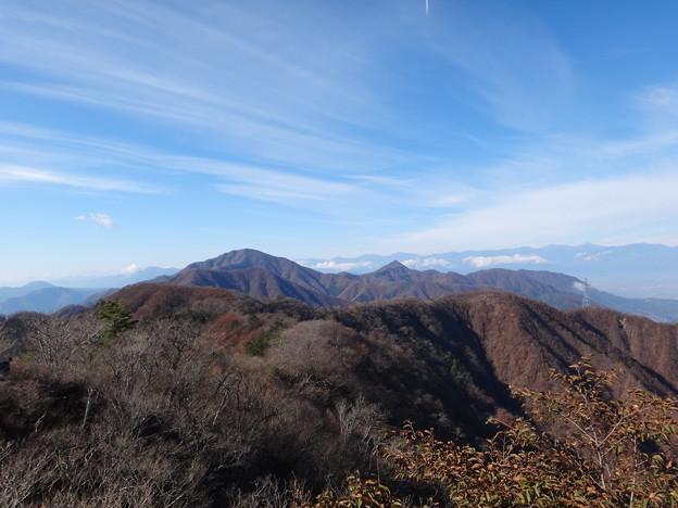 御坂山方面