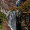 安の滝虹化粧
