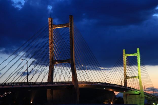 写真: 素敵な松川浦大橋