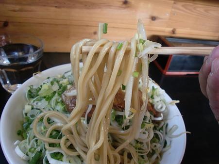 麓郷舎 ネギ森 味噌 麺