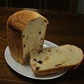 Photos: 切ってみました 葡萄パン