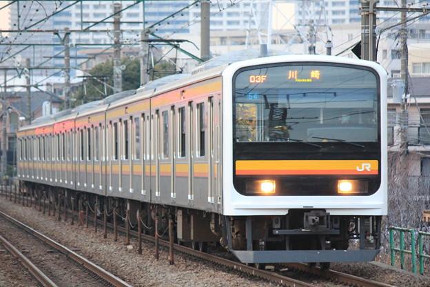 南武線209系2200番台 ナハ54編成