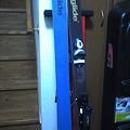 Photos: VECTOR_GRIDE_OMMNY170買っちゃいました。青の滑走面が今時 新鮮。表面も鏡...