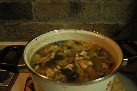 この野菜スープは美味いのだ!