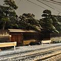 写真: 110214 雪の大村田邸前