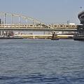 Photos: Tokyo水辺エコツアー@隅田川から見た総武線鉄橋と蔵前橋_DSC_5762
