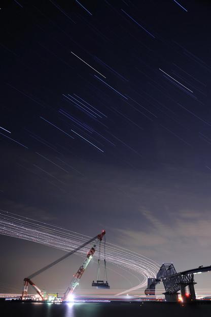 ☆夜の東京ゲートブリッジ3