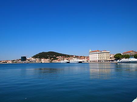 アドリア海最大の港町スプリット