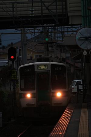 山形線 719系5000番台 羽前千歳駅