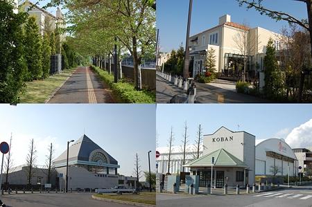 京成電鉄 学園前駅周辺