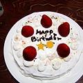 写真: ha*naの誕生日ケーキ