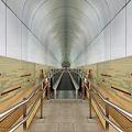 Photos: ヴォールト天井の続く通路