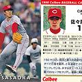 写真: プロ野球チップス1998No.079佐々岡真司(広島カープ)