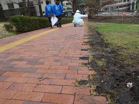 東京工業大学大岡山キャンパス スロープ歩道