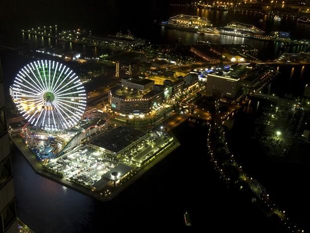 横浜ロイヤルパークホテルからの夜景