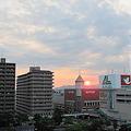 栗東の赤い太陽5(20100723)