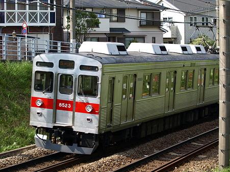 東急8500系(つくし野駅付近)