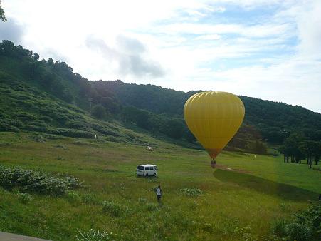 ニセコ 黄色い気球