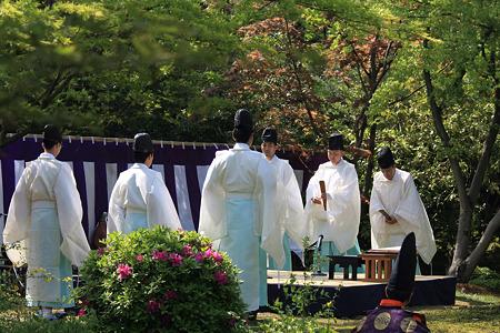 2010.04.29 城南宮 曲水の宴 和歌朗詠