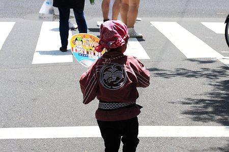 2010.06.06 鳥越祭り ちびまる子団扇