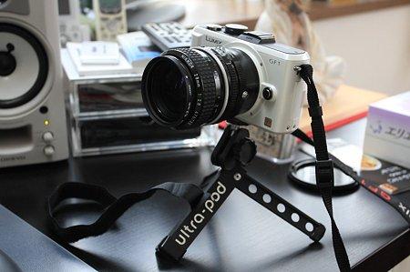 2010.09.15 机 Ai Nikkor 28mm f-2.8とUltraPod
