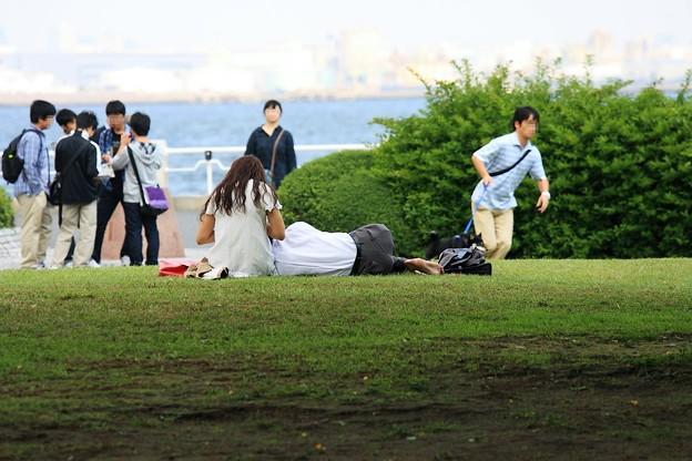 2010.10.06 山下公園 至福の時