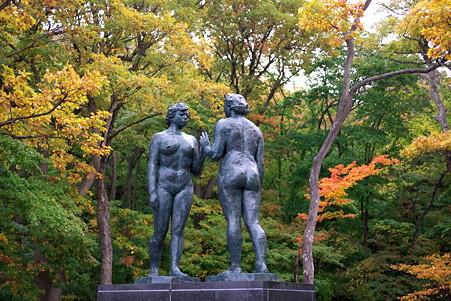 2010.10.26 十和田湖 乙女の像